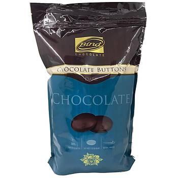 BÝND Premium Bitter Pul/Para Çikolata 2,5 Kg (%65 Kakao)
