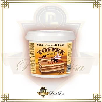 Ovalette Toffee Sütlü Karamelli Dolgu 1kg