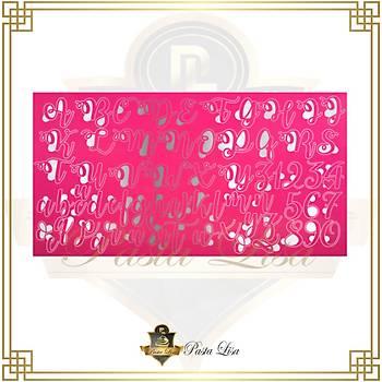 Stamp Curly Kaligrafi Set- Small