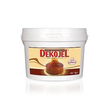 Ovalette Dekojel Karamel Aromalý Soðuk Pasta Jeli 7kg