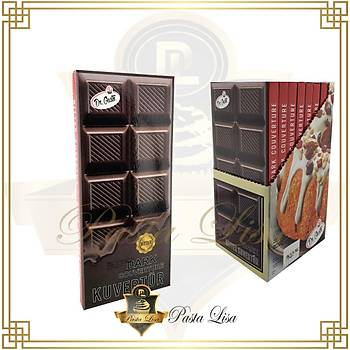 Dr.Gusto Kuvertür Çikolata 200gr - Bitter
