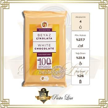 Altýnmarka Kuvertür Çikolata 2,5kg - Beyaz (%27,7)
