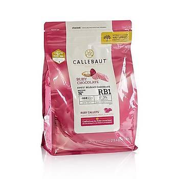 Callebaut Ruby Pul Çikolata 2,5kg