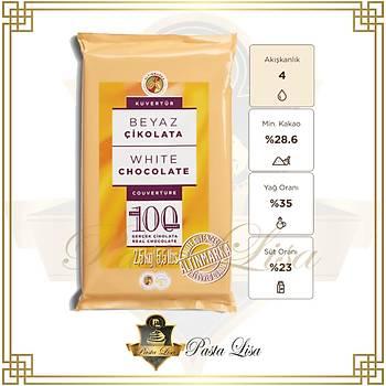 Altýnmarka Kuvertür Çikolata 2,5kg - Beyaz (%28,6)