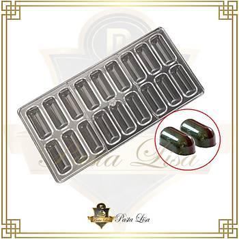 Polikarbon Çikolata Kalýbý - Baton