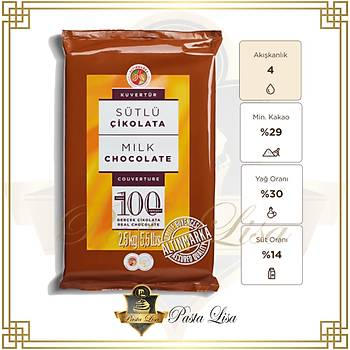 Altýnmarka Kuvertür Çikolata 2,5kg - Sütlü (%29)