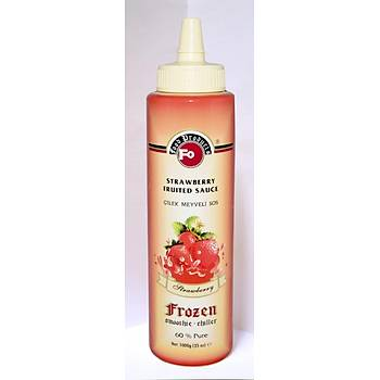 Fo Çilek Meyveli Sos - Frozen (%60 Çilek) 1kg.