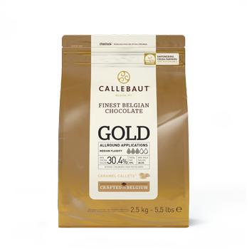 Callebaut Gold/Karamel Pul Çikolata 2,5kg