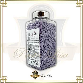 Dr. Gusto Soft Çubuk Draje (Sprinkles) 250gr - Lila