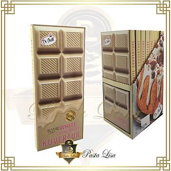 Dr.Gusto Kuvertür Çikolata 200gr - Beyaz