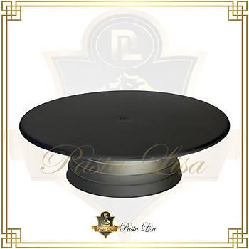 Döner Pasta Sývama Standý 32cm - Siyah