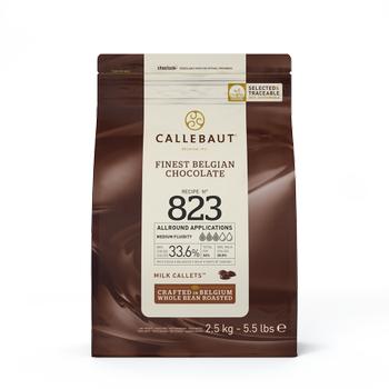 Callebaut Sütlü 823 Pul Çikolata 2,5kg