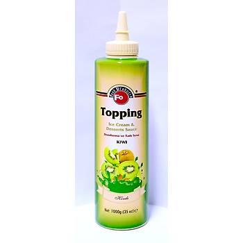 Fo Kivi Meyveli Topping/Dondurma Sosu (%30 Kivi) 1kg.