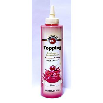 Fo Viþne Meyveli Topping/Dondurma Sosu (%30 Viþne) 1kg.