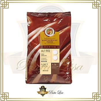 Altýnmarka Premium Mini Pul/Para Çikolata 2,5kg - Beyaz