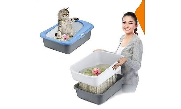 Lüx Elekli Kedi Tuvaleti