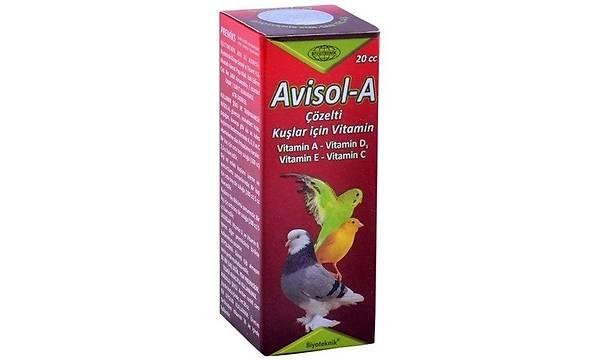 Avisol Kuþ Vitamini 20CC