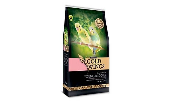 Gold Wings Premium Yavru Muhabbet Kuþu Yemi 1Kg
