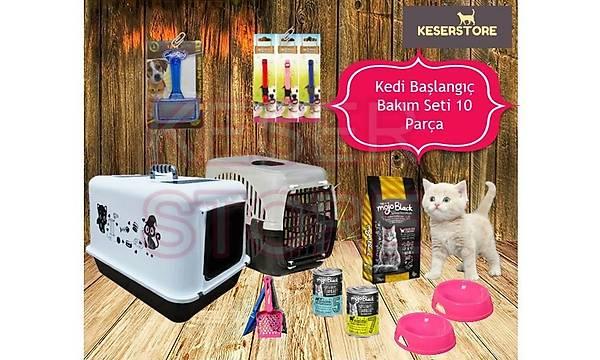 Kedi Baþlangýç Bakým Seti 10 Parça PKT-1