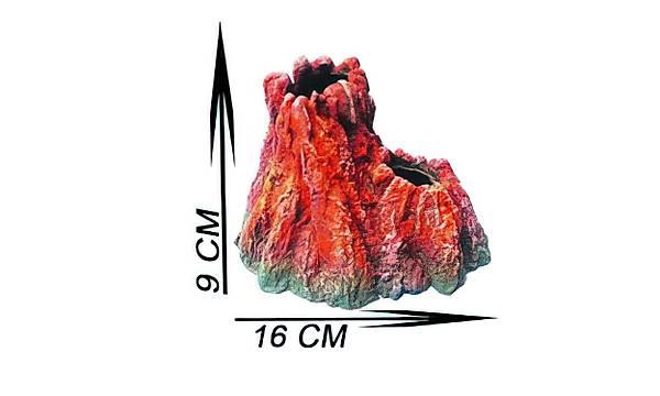 Akvaryum Dekor Volkanik Ada