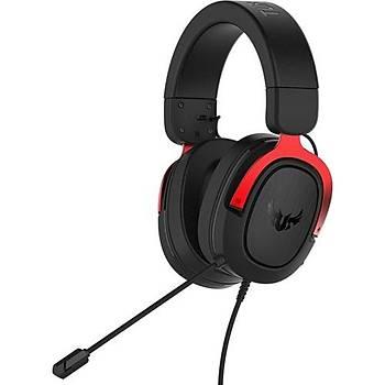 Asus TUF Gaming H3 7.1 Red Oyuncu Kulaklýk
