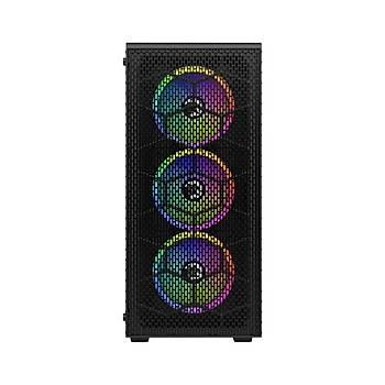 Gamepower Horizon Gaming Mesh Panel 550W 80+ Bronze Dahili Psu 4 x 120MM Rgb Fan Rgb Kontrolcü ve Uzaktan Kumanda