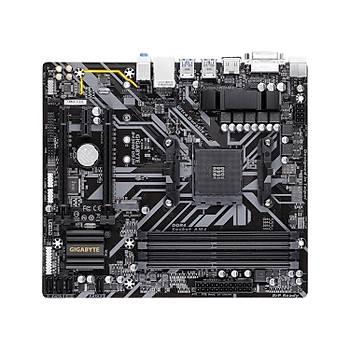 Gigabyte B450M DS3H AMD B450 DDR4 3200MHz Soket AM4 mATX Anakart