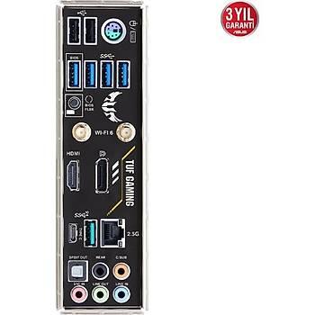 Asus TUF Gaming B550M-PLUS Wi-Fi AMD AM4 DDR4 Micro ATX Anakart