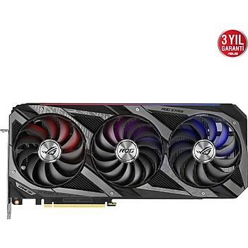 Asus GeForce Rog Strix RTX 3090 OC 24GB 384Bit GDDR6X (DX12) Ekran Kartý