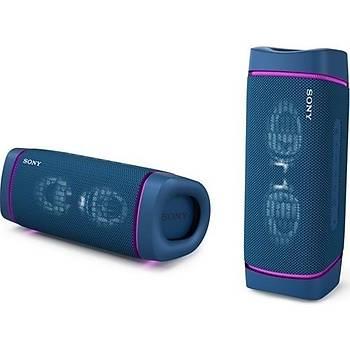 Sony SRSXB33L Extra Bass Taþýnabilir Bluetooth Hoparlör Mavi