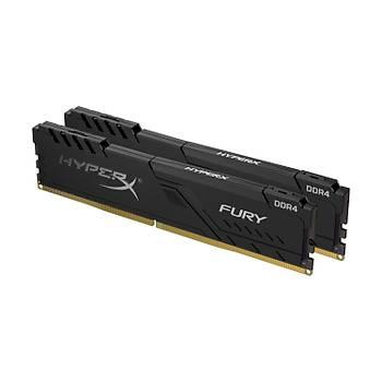 Kingston 16GB 3200MHZ Ddr4 CL16 Dýmm (Kýt Of 2) Hyperx Fury Black Serisi HX432C16FB3K2/16