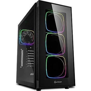 Sharkoon TG6 Tempered Glass RGB USB 3.0 ATX Mid Tower Kasa