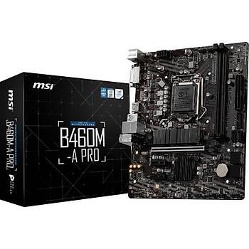 MSI B460M-A Pro Intel B460 2933MHz DDR4 mATX Anakart