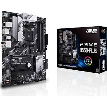 Asus Prime B550-Plus Amd B550 DDR4 4600 MHz (OC) Am4 Atx Anakart