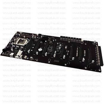 Biostar TB250-BTC D+ DDR4 1151p Mining Anakart (Riser Kart Gerektirmez)