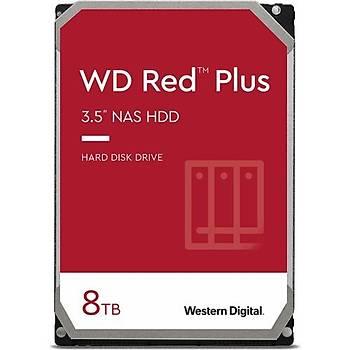 Wd Red Plus 8 TB 3.5 Sata 3 Hard Disk WD80EFBX