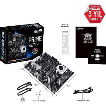 Asus Prime X570-P AMD X570 4400MHz DDR4 Soket AM4 ATX Anakart