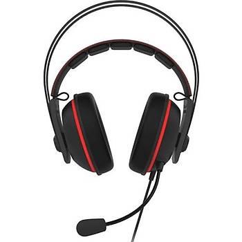 Asus TUF Gaming H7 Red 7.1 Oyuncu Kulaklýk