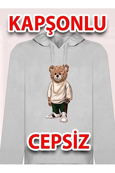 Gucii Sinan999 Kapþonlu Cepsiz