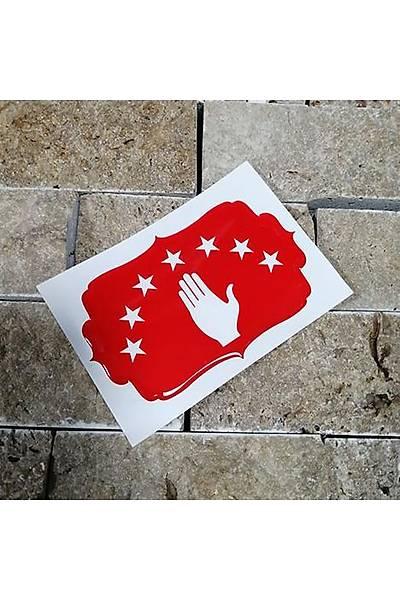 Abhazya Orta Sticker