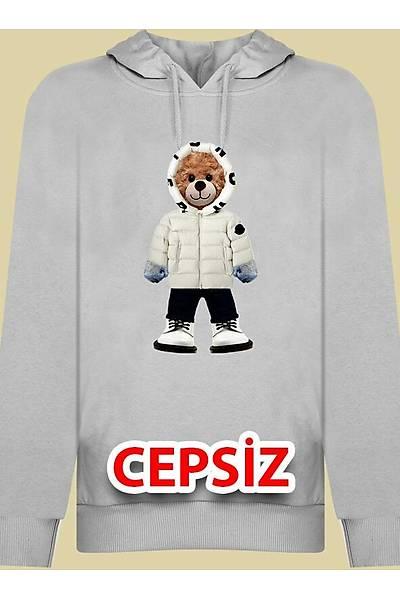 Beyaz Sapkali Sinan999 Kapþonlu Cepsiz