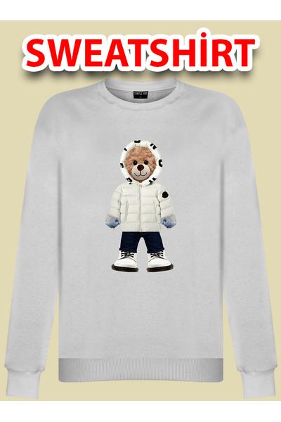 Beyaz Montlu Sinan999 Sweatshirt