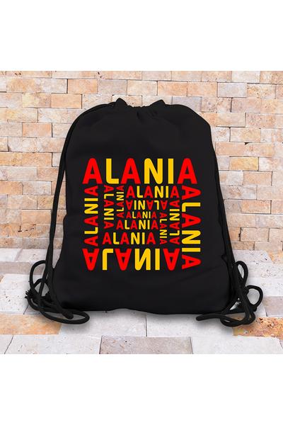 Alania Baskýlý Okul Çantasý