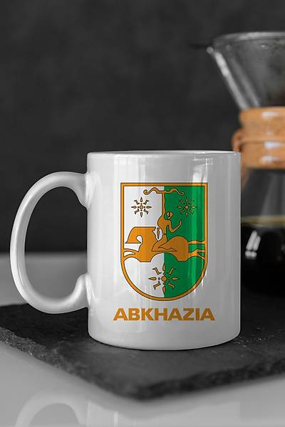 Abkhazia Seramik Kupa Bardaklar