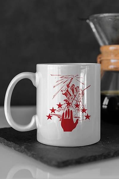 Abhazya Sosruko Renkli Kahve Kupalarý
