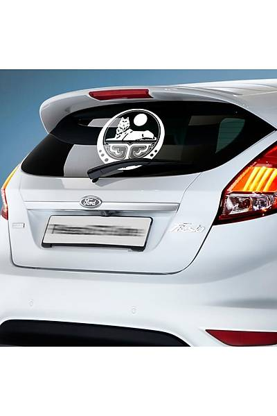 Çeçen Araç Arka Cam Sticker