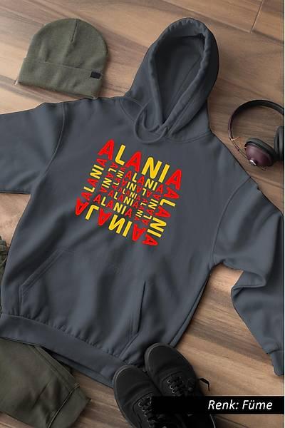 Alania Unisex Kapüþonlu Sweatshirt