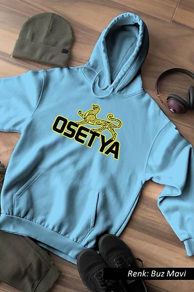 Osetya Unisex Kapüþonlu Sweatshirt