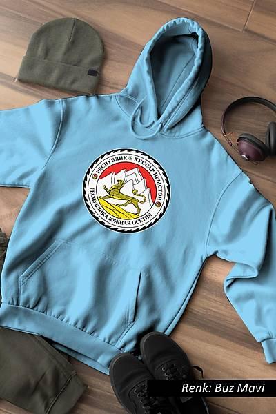 Osetya Logo Unisex Kapüþonlu Sweatshirt