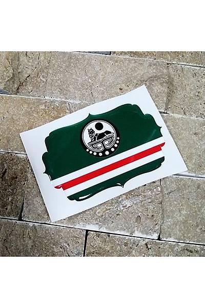 Çeçen Orta Sticker